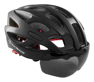 Capacete Oculos Bike Viseira Removivel Magnetica Rockbros