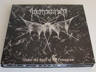 Cd + Dvd Luxe - Pentagram - Under The Spell (alemania 2008)