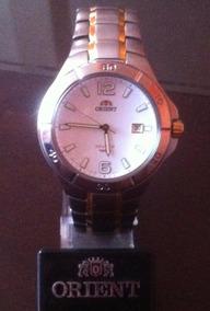 Reloj Orient Titanium Original De Hombre 100m