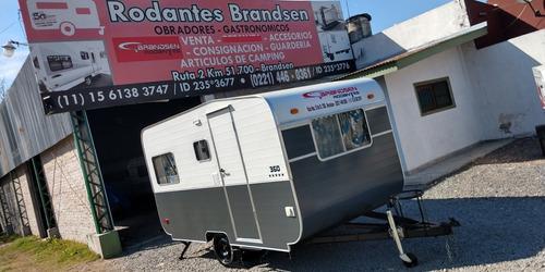 Casa Rodantes Brandsen 3,50 Mts C/ Aluminio 0km 2021