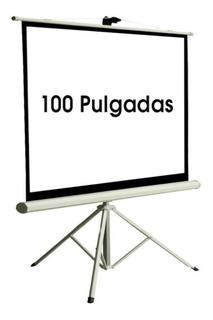 Pantalla Para Proyector Trípode 100¨ Pulgadas - Envio Gratis