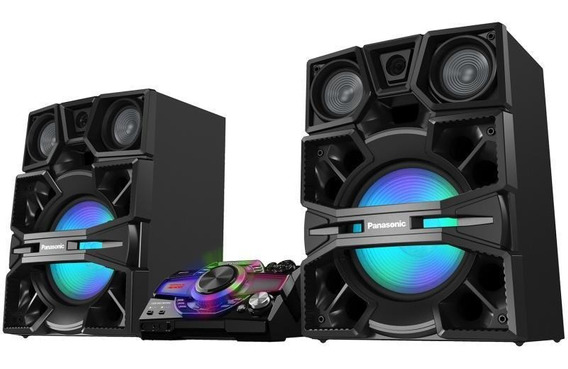 System Panasonic Max9000 3300w Usb Bluetooth 4gb Dj Bass