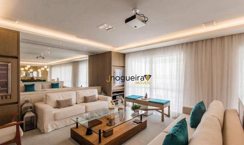 Imagem 1 de 30 de Apartamento Com 4 Dormitórios À Venda, 266 M² Por R$ 2.450.000,00 - Jardim Marajoara - São Paulo/sp - Ap10865
