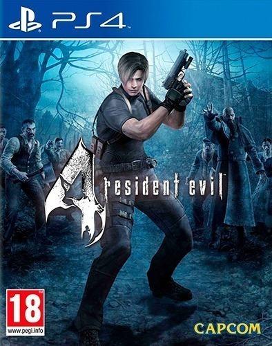 Resident Evil 4 Remastered Ps4 Psn Code 1 Envio Agora!