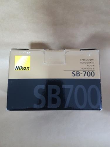 Flash Speedlight Nikon Sb700 Novo Com Nfe
