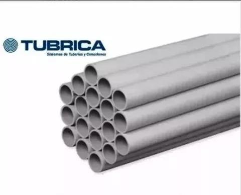 Tubo  Pavco  O  Tubrica Pvc 1 1/2   (blanco)
