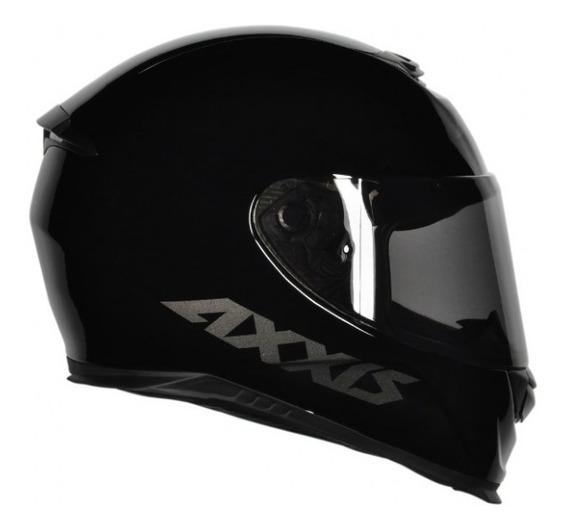 Capacete Axxis Eagle Monocolor Black