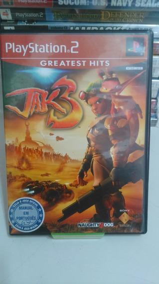 Jogo Playstation 2 Jak3 Original Midia Fisica
