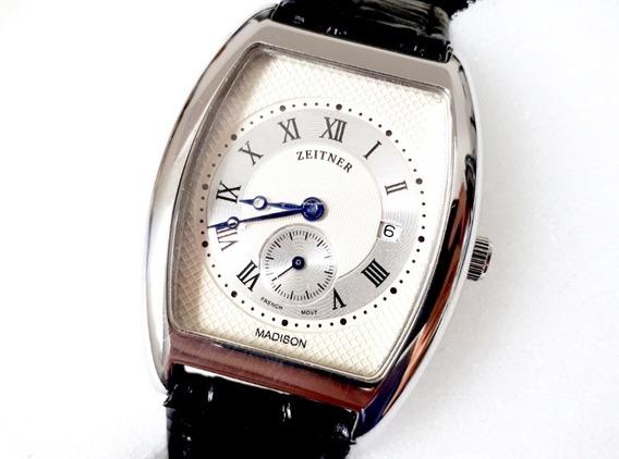 Relógio Zeitner Madison - French - Raridade 100% - Original