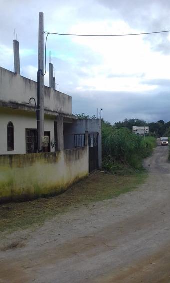 Casa De 2q, 1 Bnh, C/sala E Coz. Americana + Terreno 160m2,