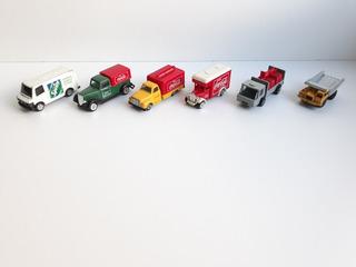 Lote : 5 Camioncitos De Coca Cola Y 1 Majorette