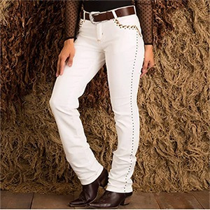 Calça Feminina Minuty Country Off White Hot Pants 201826