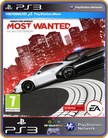 Need For Speed Most Wanted - Ps3 Psn Original Mídia Digital