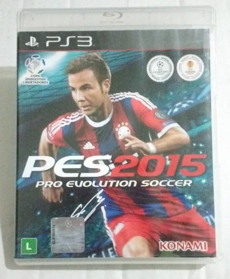 Jogo Pes2015 - Playstation3 - Ps3 - Mídia Física