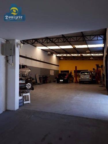 Sobrado Com 4 Dormitórios À Venda, 600 M² Por R$ 1.840.000,00 - Jardim - Santo André/sp - So1603