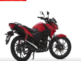 Moto Honda Cb125f Twister Año 2018 Rojo Negro