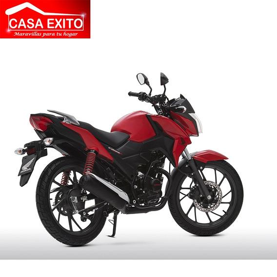 Moto Honda Cb125f Twister Año 2019 Rojo Negro