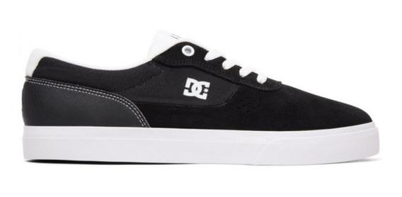 Zapatillas Dc Switch S (bkw) Skate Hombre Negro