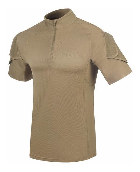 Combat Shirt Invictus Fighter Caqui Militar Original C/nota