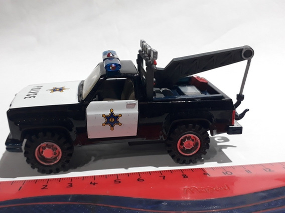 Welly 1/43 Chevrolet Pick Up Grua Police 1983 Hobby-centro