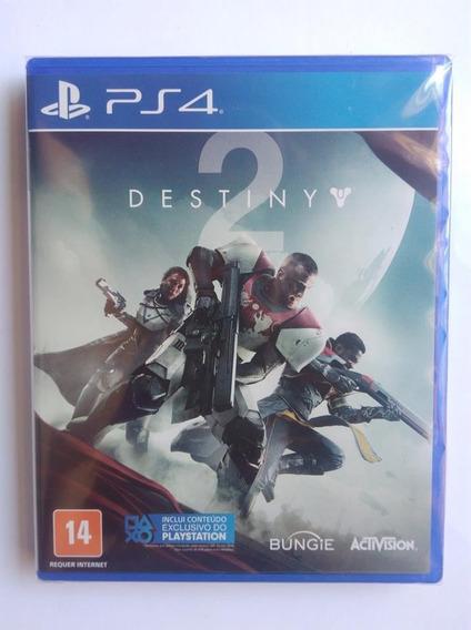 Destiny 2 Edição De Day One Lacrado Ps4 Mídia Física