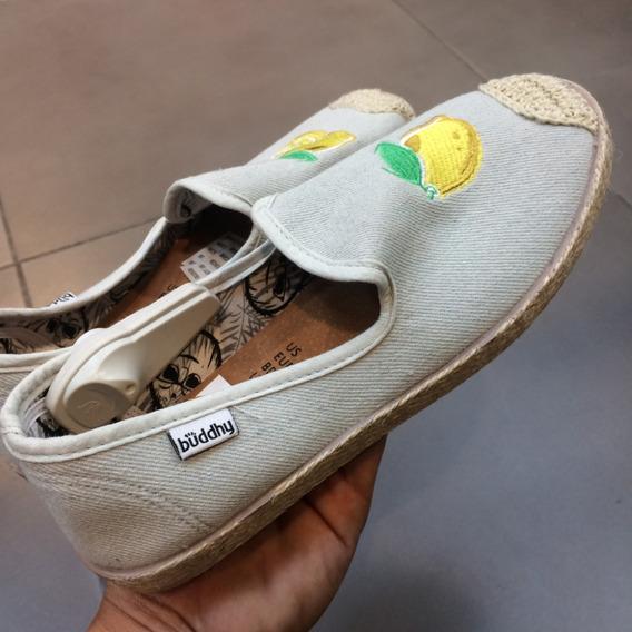 Zapatos Buddhy Originales Para Damas - Bd16056w - Ltblue