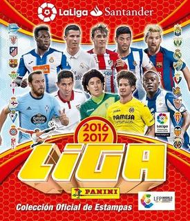 Álbum Liga Española 16-17 Panini + 50 Sobres + Envío Gratis