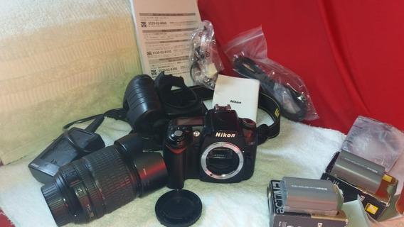 Câmera Nikon D90(corpo) + Lente Nikon 18-105mm