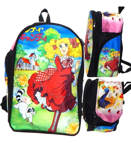 Candy Candy Mochila Backpack Mapache Klin Candice
