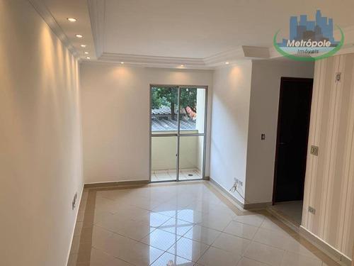 Apartamento Com 2 Dormitórios À Venda, 55 M² Por R$ 250.000 - Vila Paulista - Guarulhos/sp - Ap1066
