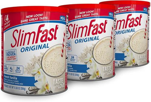 Slimfast Original Vainilla X 3