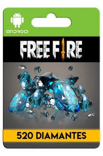 Free Fire 520 Diamantes + Bonus
