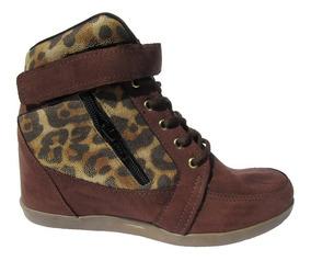 Tênis Feminino Botinha Com Salto Sneaker ! Preço De Fábrica