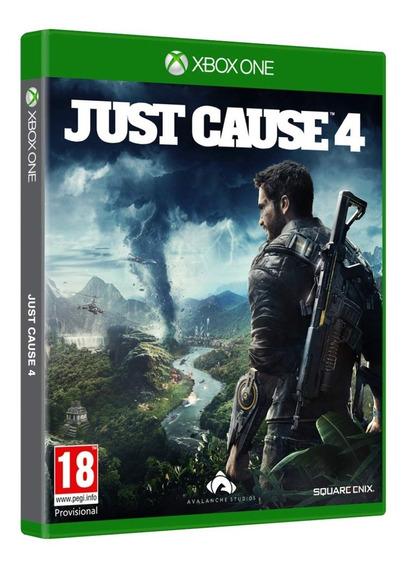 Jogo Just Cause 4 Xbox One Midia Fisica Original Dublado