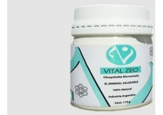 Vital Zeo Zeolita Clinoptilolita Micronizada Activada 1 U
