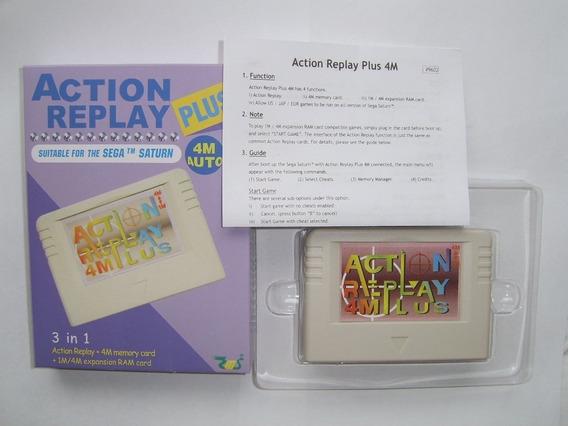 Action Replay Plus Para Sega Saturn 5 Em 1 Anuncio Classico