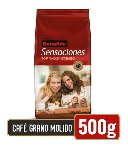 Imagen 1 de 2 de Bonafide Café En Grano Molido Sensaciones 500gr