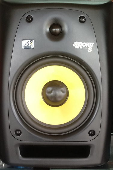 Monitor Ativo De Referência Krk Rokit 8 Rpg2 (unitário)