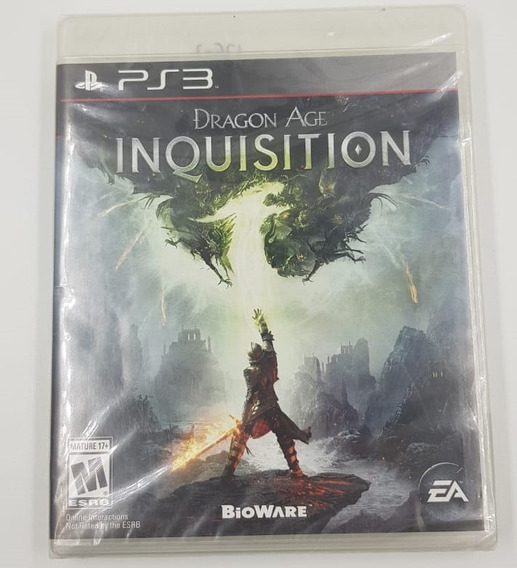 Jogo Mídia Física Dragon Age Inquisition - Ps3