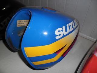 Tanque De Moto Suzuki Katana Azul