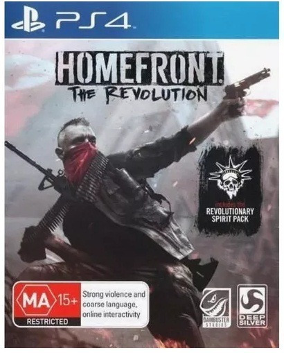Homefront The Revolution Midia Fisica Ps4 Frete Gratis Cr