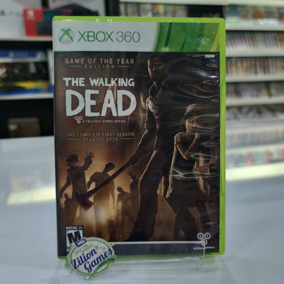 The Walking Dead Game Of Year Edition Xbox360 - Completo