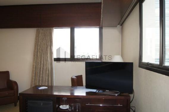 04081 - Flat 1 Dorm, Brooklin Novo - São Paulo/sp - 4081