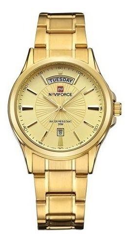 Relógio Naviforce Masculino Com Calendário Original