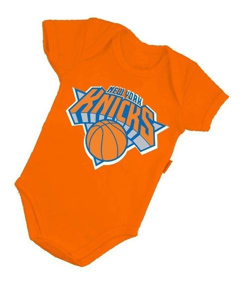 Body Bebê Infantil Basquete Nba Times Basquetebol Basketball