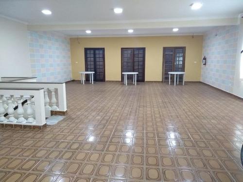 Salão Comercial Para Locação, Jardim Las Vegas, Santo André. - Sl1241
