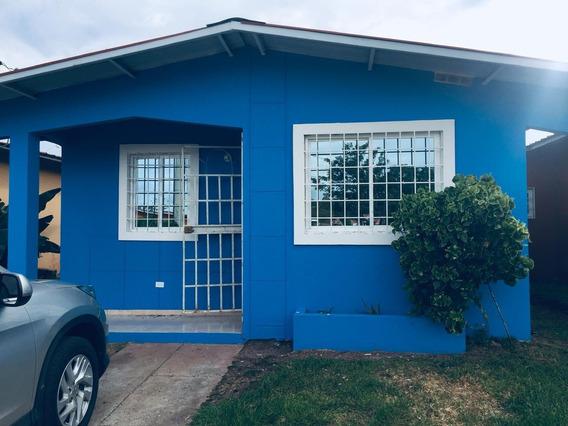 Alquilo Casa En Chorrera - Residencial Villas Del Carmen
