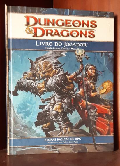 Dungeons & Dragons - Livro Do Jogador 4 Conservado