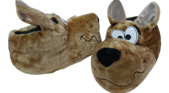Pantufla Scooby-doo Suela Goma Abrigadas Originales®