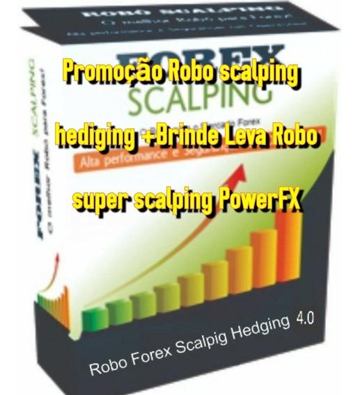 1 Robo Forex Hedging + Robo Scalping Promoçao